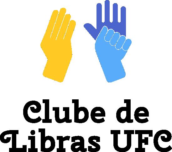 Logotipo do Projeto de Extensão Clube de Libras UFC